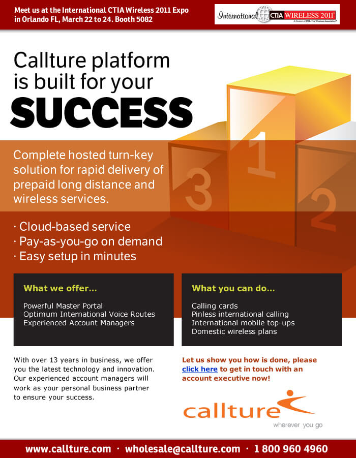 Callture Platform is built for your success